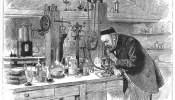 Md 1280px portrait of louis pasteur in his laboratory wellcome m0010355