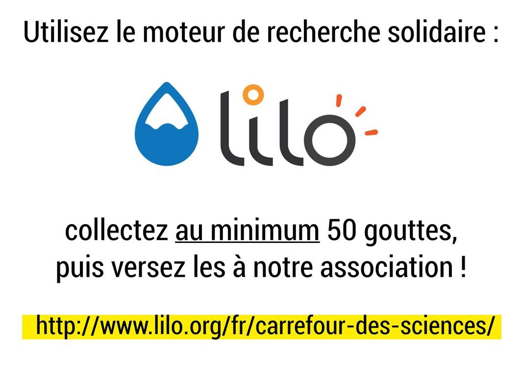 95d0e32e547ef7 Soutenez notre association (sans dépenser d argent !) grâce au moteur de  recherche solidaire LILO.