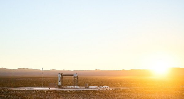 Lg blueorigin newshepard launchpadatsunrise ns10