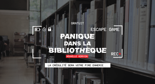 Lg banniere formations escape game panique dans la bibliotheque grands groupes