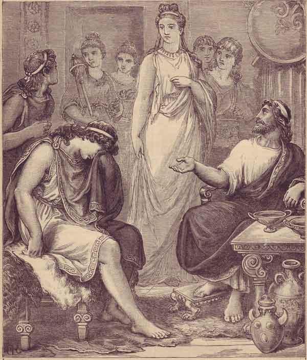 Gravure du XIXe siècle, source wikipédia Commons