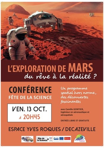 Xl affiche conf rence mars mailing