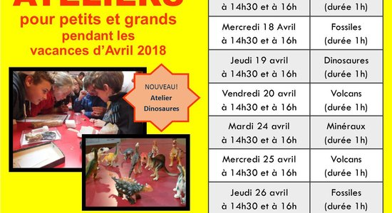 Lg ateliers d avril 2018