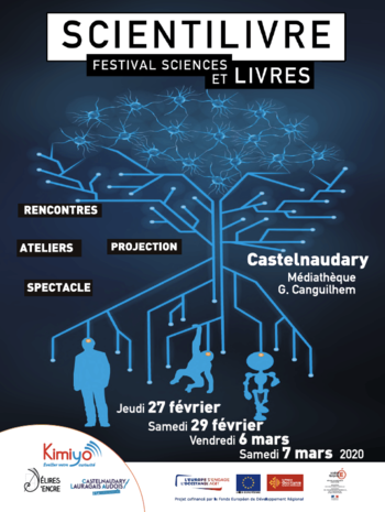 Xl affiche scientilivre castelnaudary edition 2